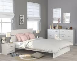 schlafzimmer set 4 teilig mit 140 er bett galaxy 123 weiß