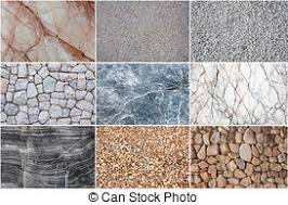 Group Of Texture Grunge Stone Marble Pebble For Background