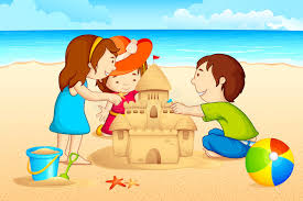 Sandcastle Clipart Sand House Vector Transparent Library