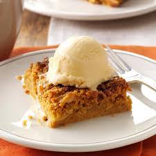 top 10 dessert recipes great pumpkin dessert recipe taste of home
