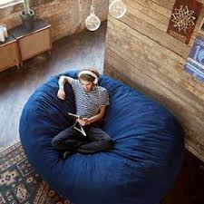 Fuf Chair Replacement Cover by Amazon Com Big Joe Xxl Fuf Foam Filled Bean Bag Chair Comfort