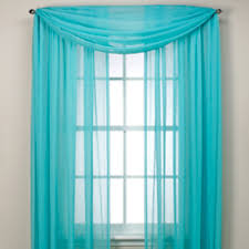 crushed voile sheer window curtain panel rod pocket window
