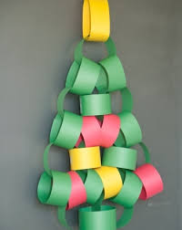 Christmas Paper Crafts For Preschoolers Easy Kids On Ideas