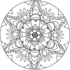 Advanced Adults Coloring Page Of Snowflake Free Printable