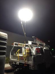 100 Work Lights For Trucks Balloon For Paving Road Construction MoonGlo Balloon