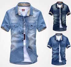 K75 New Fashion Mens Jeans Casual Slim Stylish Wash Vintage Denim Shirts 2018 From Kellymart 1508