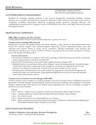 Typical Service Manager Cv Sample Job Resume 56 Customer Objective Download Custome 965 10 For Fast Food