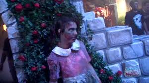 Zombies invade Howl O Scream 2011 in scare zones haunted houses