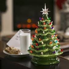 Best Choice Products 15 Prelit Ceramic Tabletop Christmas Tree W With Regard To Pre Lit Green