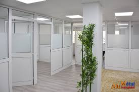 separateur bureau séparations de bureau alumetal mezghani