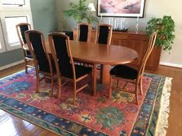 Skovby Cherry Dining Table 6 Chairs And Sideboard For Sale In Chesapeake VA