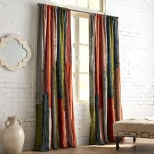 Pier 1 Imports Curtain Rods by Velvet Sari Patchwork Curtain Pier 1 Imports