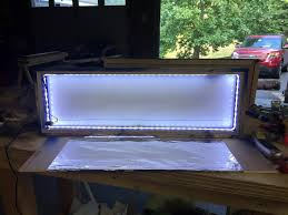 Arcade Marquee Lightbox The Perfect Man Cave
