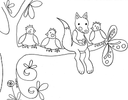 Printable Coloring Pages Woodland Animals Now