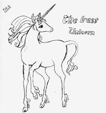 Pages The Last Unicorn Movie Coloring 77 Best