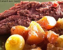 cuisiner navets nouveaux recette canard aux navets notre recette canard aux navets