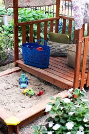 A Sandbox / Fort For The Kids - Making It Lovely Decorating Kids Outdoor Play Using Sandboxes For Backyard Houseography Diy Sandbox Fort Customizing A Playset For Frame It All A The Making It Lovely Ana White Modified With Built In Seat Projects Playhouse Walmartcom Amazoncom Outward Joey Canopy Toys Games Lid Benches Stately Kitsch Activity Bring Beach To Your Backyard This Fun Espresso Unique Sandboxes Backyard Toys Review Kidkraft Youtube