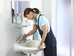 fuge mit silikon ausspritzen fugen erneuern sanitär