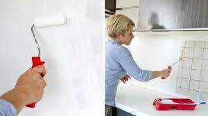 carrelage mural cuisine mr bricolage peinture faience cuisine repeindre le carrelage dune cracdence de