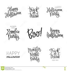 Quotes For Halloween Pictures by Set Quotes On Halloween Stock Vector Image 73898564