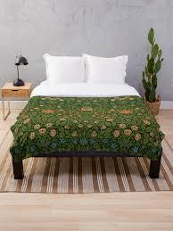william morris tapisserie teppich rot grüner teppich asiat fleecedecke