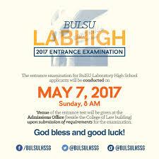 BulSU LHS SG On Twitter