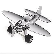 cadeau bureau homme presse papier avion aimanté décoration de bureau accessoires de
