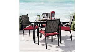 Crate And Barrel Dining Room Chairs by Alfresco Grey Dining Chair Crate And Barrel