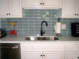 Peel And Stick Glass Subway Tile Backsplash by Green Glass Backsplash Tiles Simple Kitchen Ideas With Green Olive