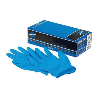 Park Tool Nitrile Gloves - X-Large, Box of 100