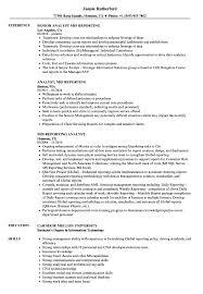 Download MIS Reporting Resume Sample As Image File