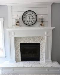 best 25 tile around fireplace ideas on white mantle
