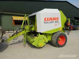 Christmas Tree Baler For Sale by Used Claas Rollant 255 Rc Round Balers Price 14 602 For Sale