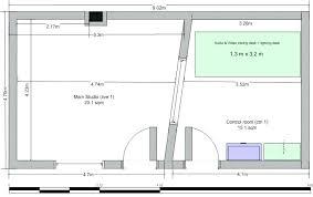Small Recording Studio Designs Home Desk Design Amazing Alluring Floor Plans