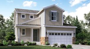 Evans New Home Plan in Sierra Ridge Pioneer Collection by Lennar