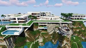 100 Modern Hiuse Houses Minecraft