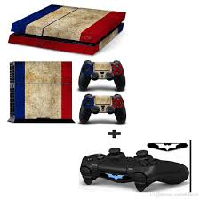 Old French Flag Skin Decal Stickers For PlayStation 4 Console And ...