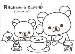 Kawaii Coloring Pages Free Printable Page Cute Animal