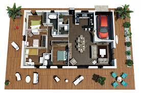 maison plan en couleur villa villas