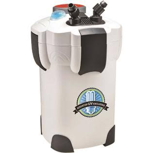 Aquatop Canister Filter - with UV, 9W, 525 GPH, 5 Stage