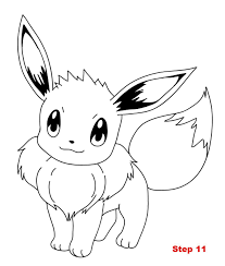 Eevee Coloring Pages 28 With