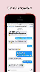Color Fonts Keyboard ∞ Keyboards with Cool Font & Emoji for