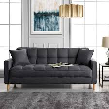 104 Modren Sofas Amazon Com Divano Roma Furniture Modern Dark Grey Home Kitchen