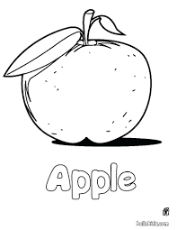 Apple Store Coloring Book Pattern Picture Page Full Size