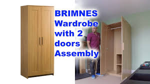 IKEA BRIMNES 2 Doors Wardrobe Assembly - YouTube Brimnes Wardrobe With 3 Doors Black Ikea Wardrobes Armoires Closets Cabinet Gssblack Morvik Whitemirror Glass 259 Oak Forest Plastic Armoire Wardrobe Abolishrmcom Open Fitted Sliding Doors More Armoire Ikea Brimnes Dresser Chest Of Drawers Quick And Easy Awesome Commode Best D Model With Simple Portes Tag Ikea Brimnes