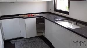 leichlingen ikea küche mit steel grey granit arbeitsplatten