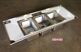 Josam Floor Drain Basket by Drop In Bar Sink 3 Well W Drain Boards