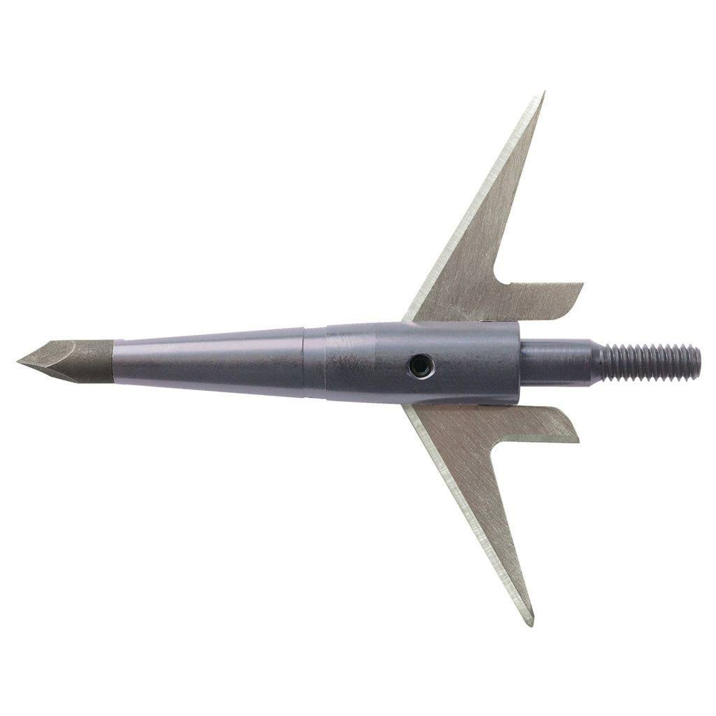 "Swhacker Crossbow Broadhead - Pack of 3, 2.25"", 125 Grain, Silver"