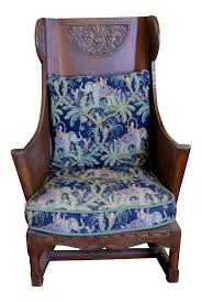 Antique Ornate Carved Wooden Wingback Chair W/ Monkey & Elephant  Upholstered Cushions Floral Chair Covers Ebay Animal Print And Antique Ornate Carved Wooden Wingback W Monkey Elephant Upholstered Cushions Woodlands Peters Cabin Ding Pads Latex Foam Fill 28 Great Of Phomenal Prints Reversible Stripe Cushion Rocker Rocking Oooh Baby Harriet Bee Starla Whale Tales Kids Wayfair Ihambing Ang Pinakabagong Recliner Mat 1930s Vintage Saddle Levo In Beech Wood With Mmout Cloud Delta Children Emma Nursery Graphite