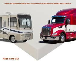Semi Truck Sleeper Topper 3.3 Lb Memory Foam Mattress Topper 74